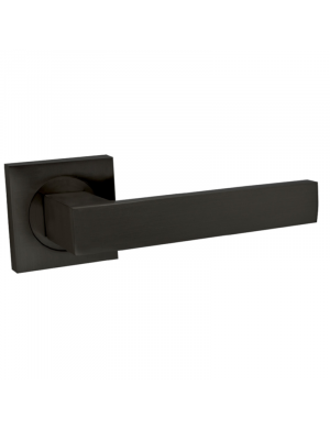 JANDEL BLACK SQUARE PLAQUE DOORHANDLE
