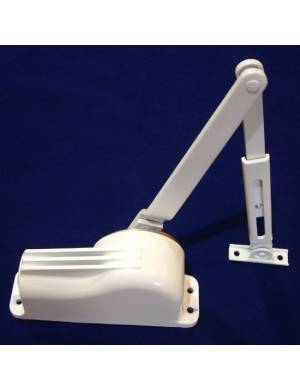 TELESCO 33 WHITE DOOR CLOSER