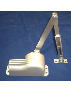 TELESCO 44 SILVER DOOR CLOSER