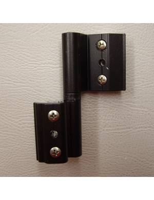 R BLACK 4000 (NORMAL CHANNEL) ADJUSTABLE HINGE