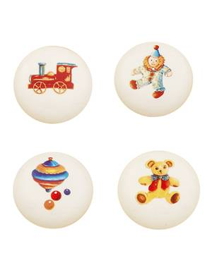 NESU 43 30 CHILDRENS ASSORTED KNOB