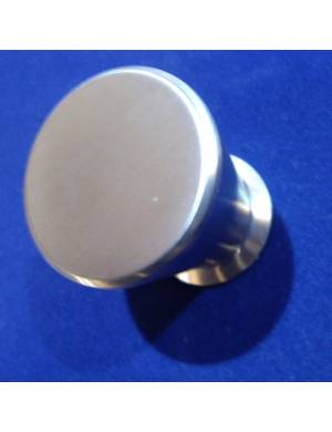 I.GALLEGAS 857 28 MM STAINLESS STEEL KNOB