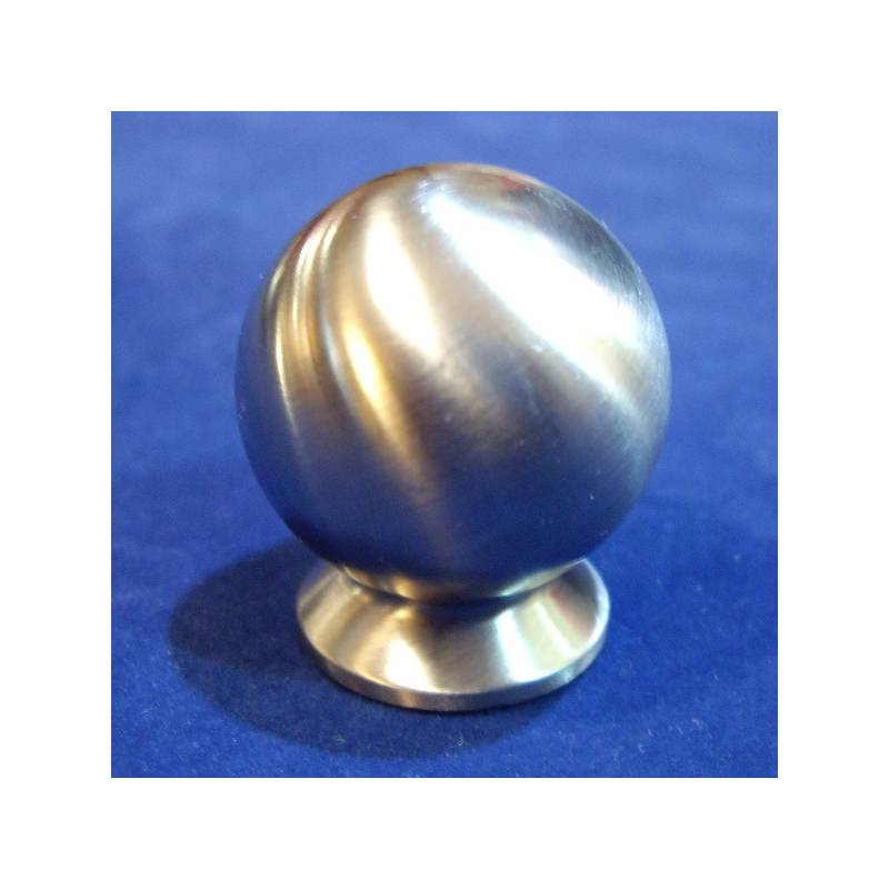 I.GALLEGAS 851 25 MM STAINLESS STEEL BALL KNOB