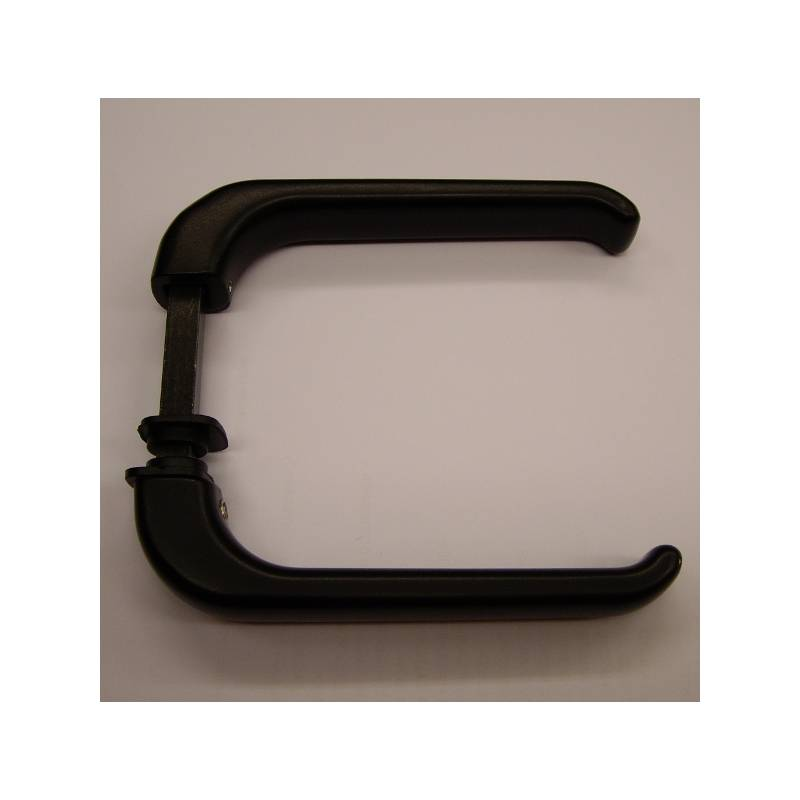 BLACK BALCONY DOOR HANDLE