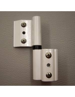 L WHITE 4000 (NORMAL CHANNEL) ADJUSTABLE HINGE