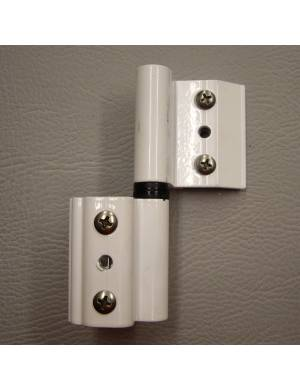 R WHITE 4000 (NORMAL CHANNEL) ADJUSTABLE HINGE