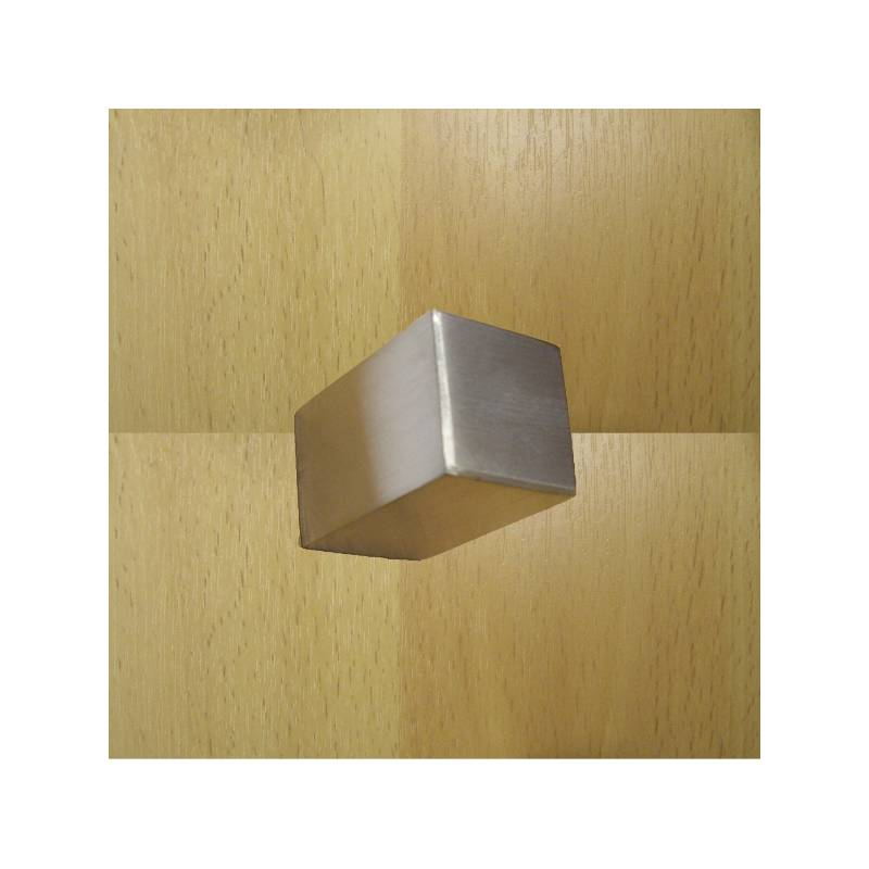 EVI 20 MM. MATT STAINLESS STEEL 1297 KNOB