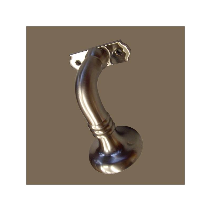 ESTRELLA MATT NICKEL 40*65 HANDRAIL BRACKET