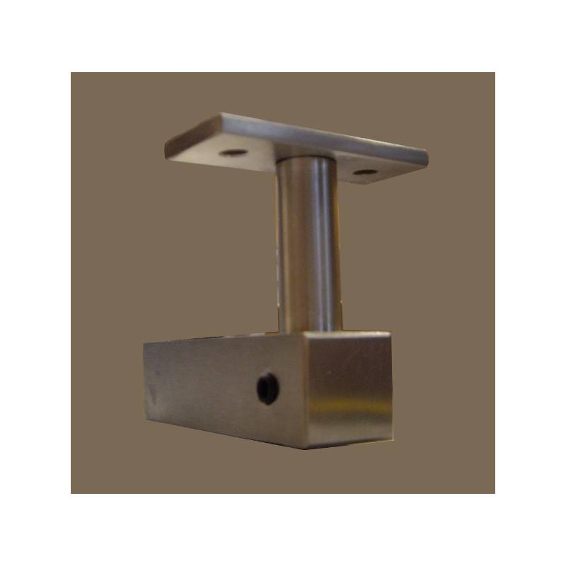 EVI MATT STAINLESS STEEL 83 HANDRAIL BRACKET