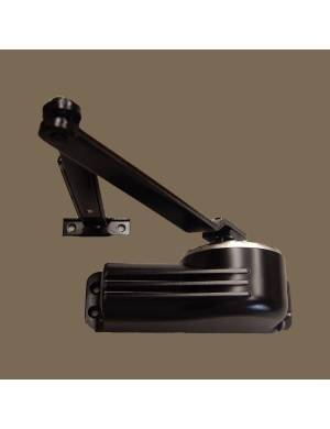 TELESCO 33 BLACK DOOR CLOSER