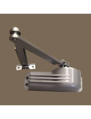 TELESCO 33 SILVER DOOR CLOSER