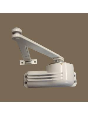 TELESCO 44 WHITE DOOR CLOSER