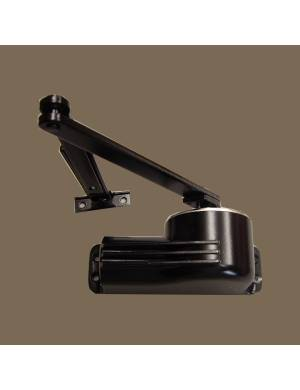 TELESCO 44 BLACK DOOR CLOSER