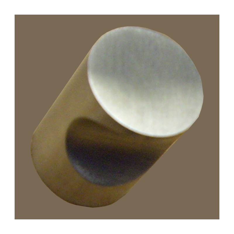 H.JIMENEZ 15 MM ROUND STAINLESS STEEL KNOB