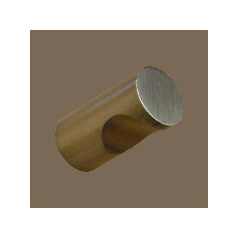 H.JIMENEZ 12 MM ROUND STAINLESS STEEL KNOB