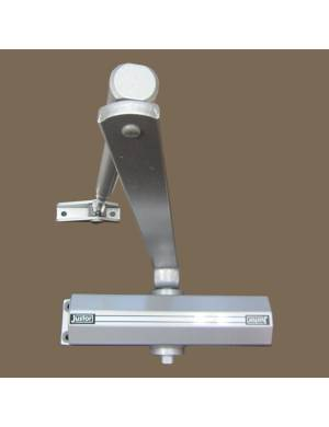 JUSTOR SILVER 12-RL DOOR CLOSER