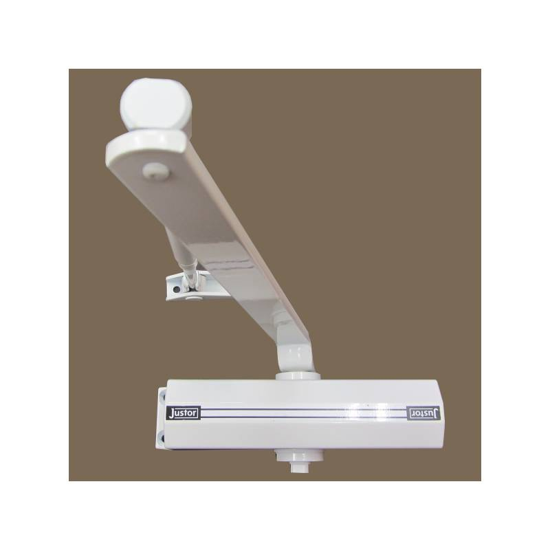 JUSTOR WHITE 12-RL DOOR CLOSER