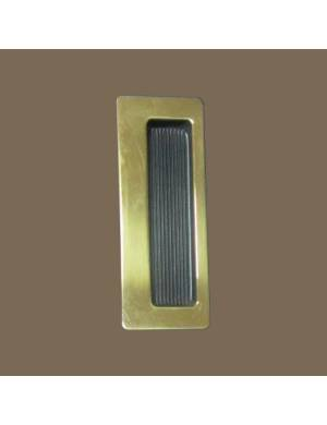 VERGES BLACK 3801 103 SLIDINDG DOOR HANDLE