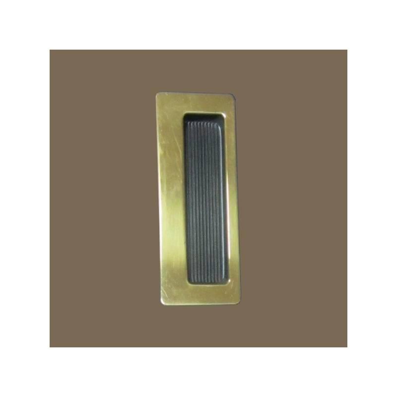 VERGES BLACK 3801 103 SLIDINDG DOOR HANDLE