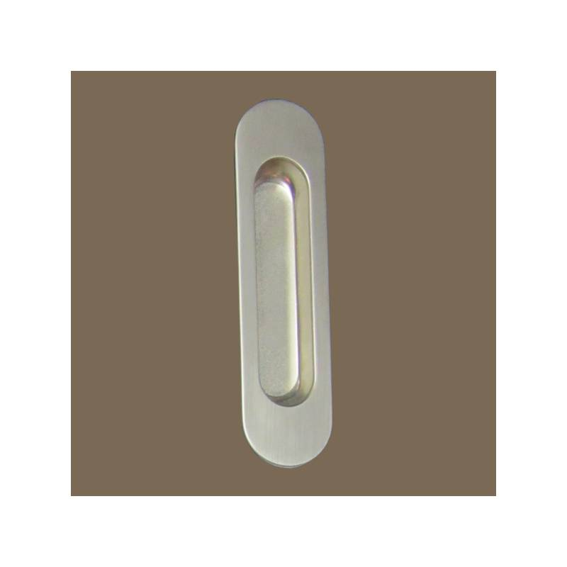VERGES MATT NICKEL 3921 038 SLIDING DOOR HANDLE