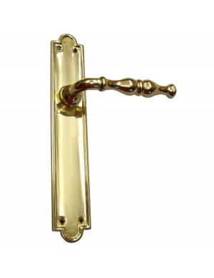 VALIÑO 423/EVA 40*250 POLISHED BRASS HANDLE