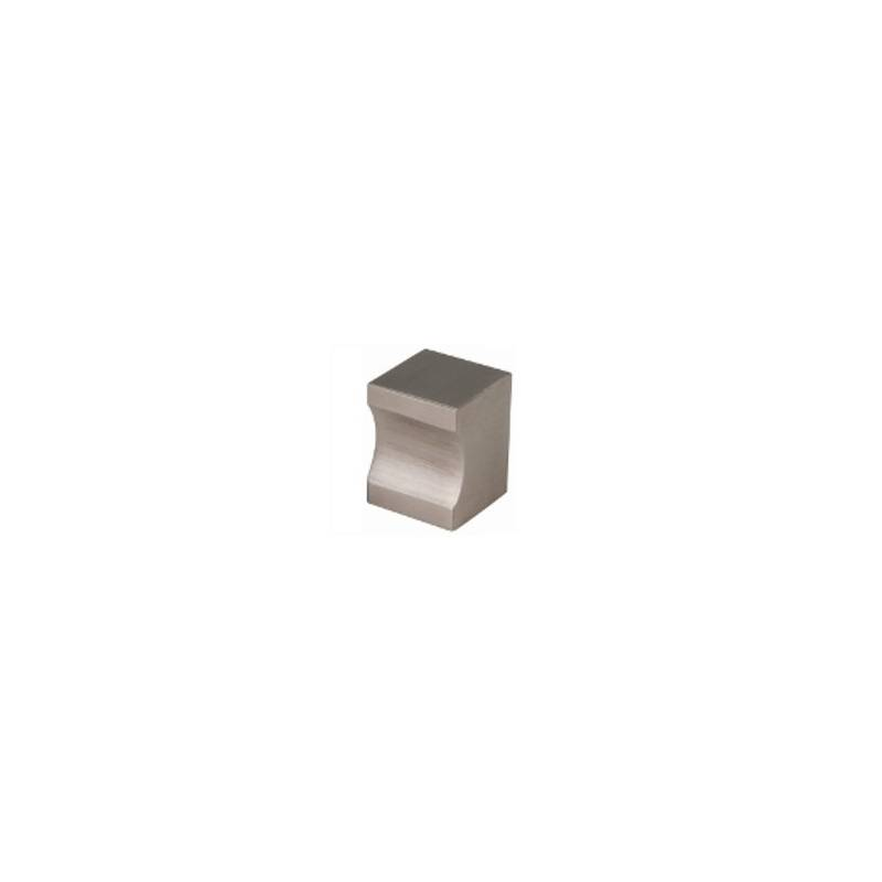 H.JIMENEZ 15 MM STAINLESS STEEL CUBE KNOB
