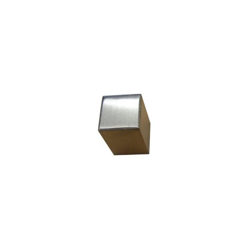 EVI 16 MM. MATT STAINLESS STEEL 1297 KNOB