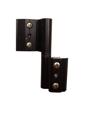 L BLACK 4000 (NORMAL CHANNEL) ADJUSTABLE HINGE
