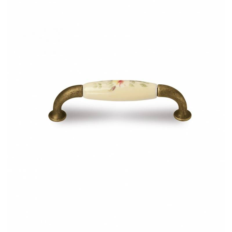 VERGES 9770 831 BRONZE/IVORY PORCELAIN HANDLE