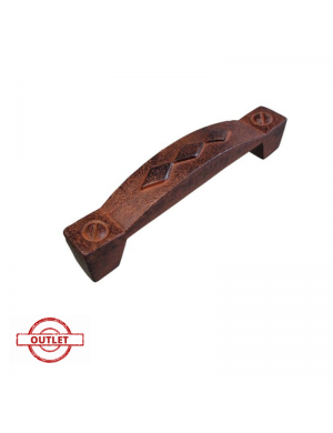 NESU 5956X 96 MM RUSTY IRON HANDLE