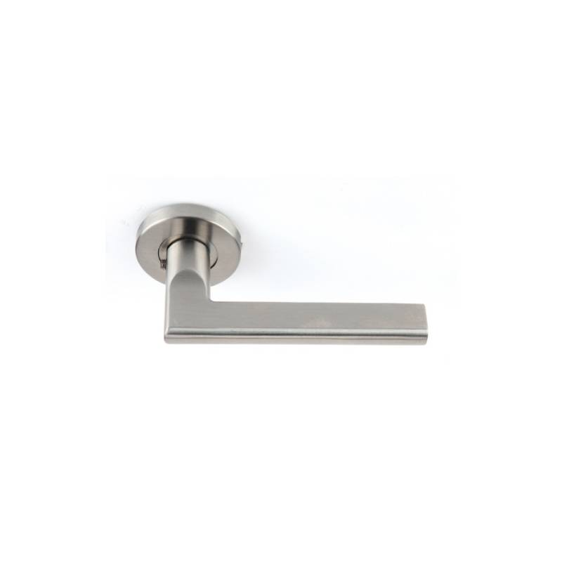 HERRAYMA 530 ROUND PLATE HANDLE. STAINLESS STEEL
