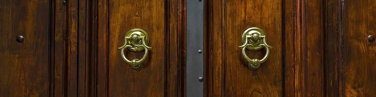 Chamadores para portas. Antigos e clásicos