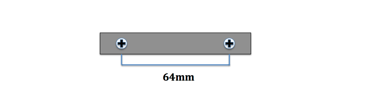 Tiradores de 64 mm