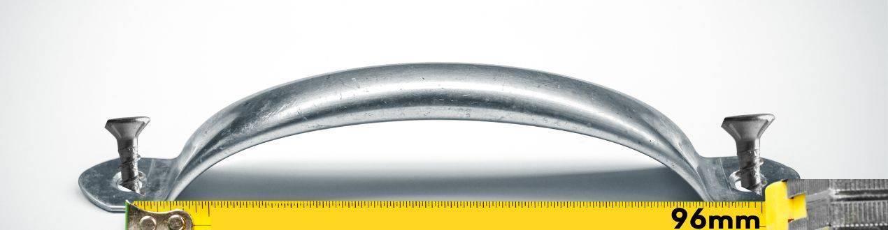 Tiradores de 96mm de distancia entre parafusos