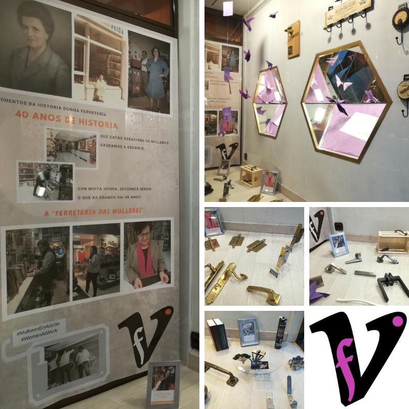 A Veiga: a ferreteria das mulleres. 40 anos de ferreteria en Lugo